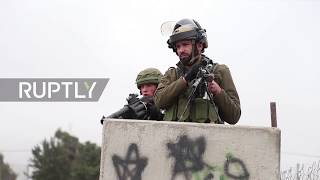 State of Palestine: Clashes erupt as Israeli forces block entrance to Palestinian university