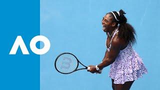 Qiang Wang vs Serena Williams - Match Highlights (3R) | Australian Open 2020