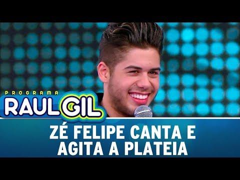 Zé Felipe Canta E Agita A Plateia  | Programa Raul Gil (30/09/17)