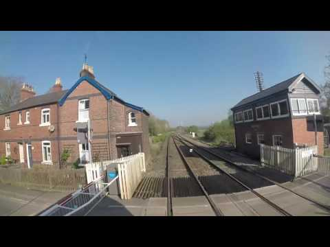 Class 66 Cab ride, Hereford to Crewe Basford Hall, Part 1