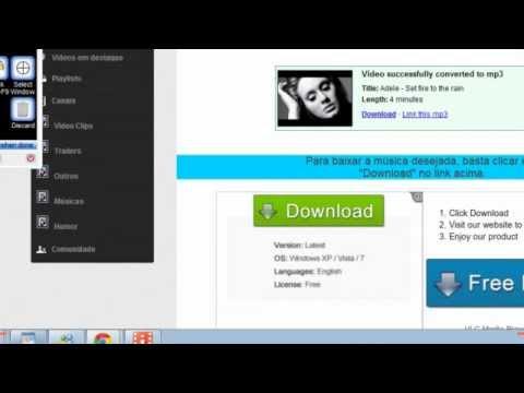 video aula como baixar musica gratis