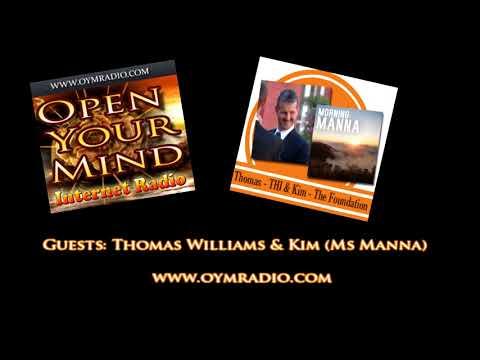 Open Your Mind (OYM) Radio - Thomas Williams & Kim (Ms Manna) - 11th March 2018