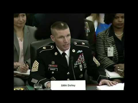 Senior Enlisted Leaders Testify at Senate Hearing