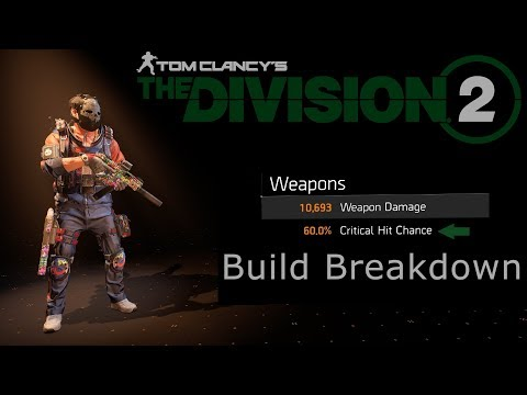 Max Crit SMG Build – The Division 2