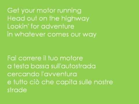Born to be wild - Cover with lyrics (testo + traduzione italiano)