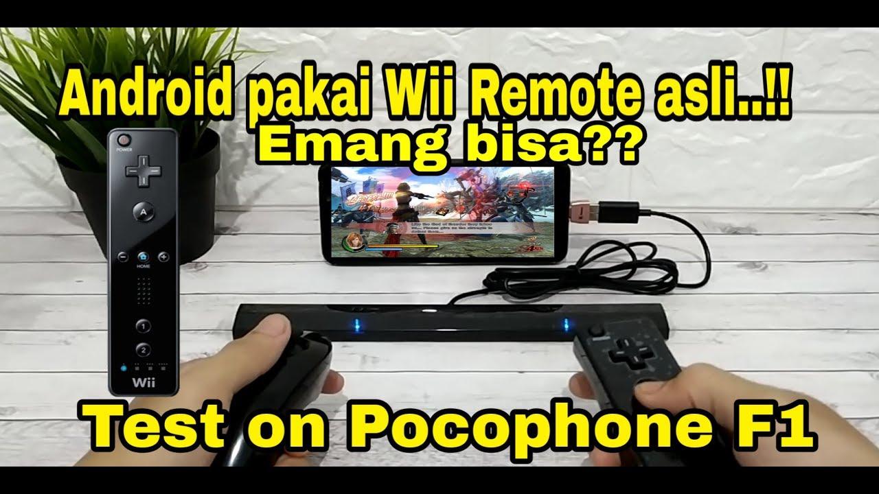 Tutorial menggunakan Wii Remote & nunchuck Controller di Android Dolphin  Emulator