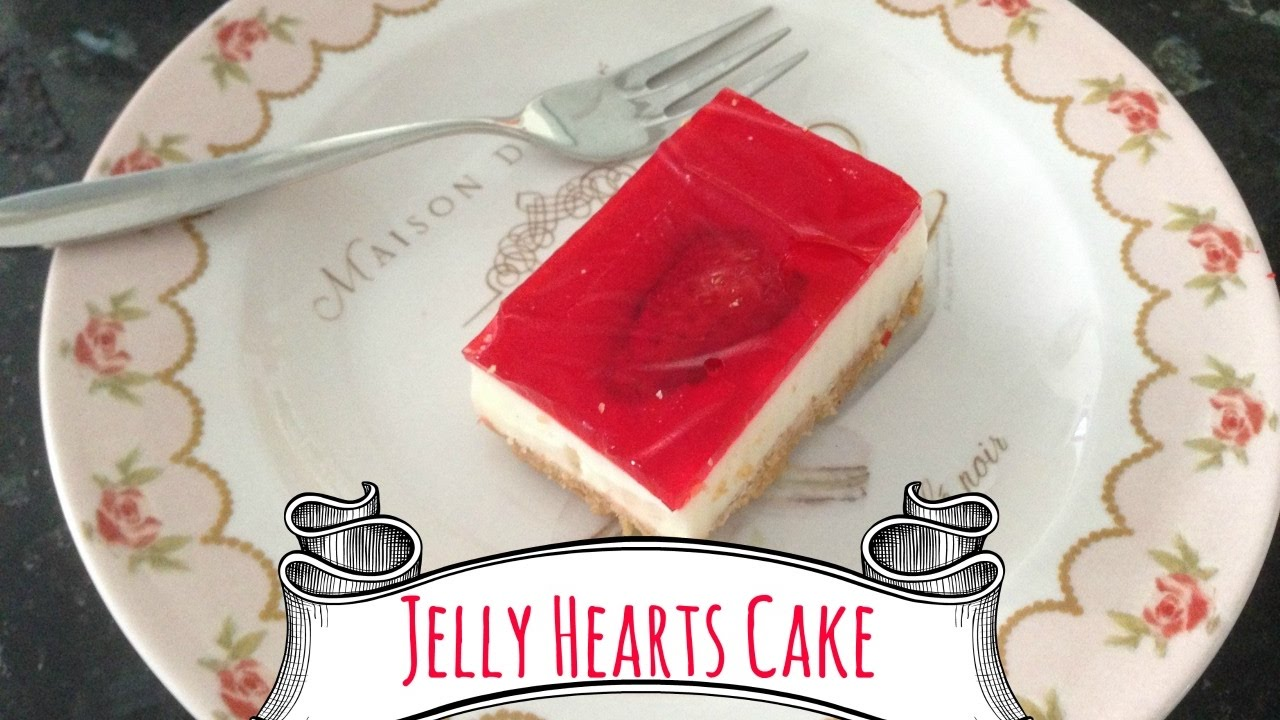 Jelly Cake Making: How To Make A Jelly Hearts Cake!