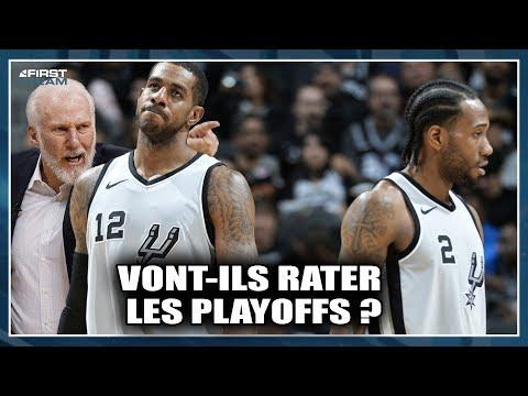 SPURS, VONT-ILS RATER LES PLAYOFFS ? First Talk NBA #44