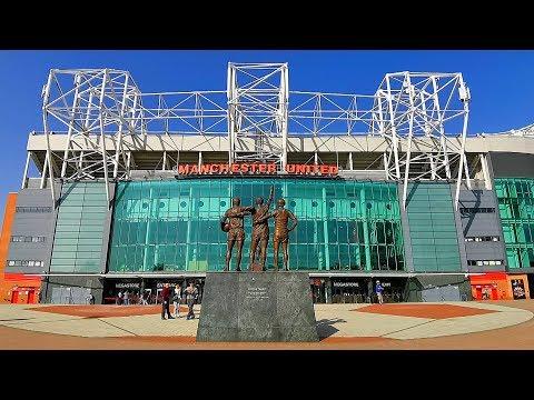 """""""Олд Траффорд  """" . """" Манчестер Юнайтед """" Манчестер. Англия."""