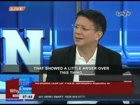 Sen. Escudero objected to calls for resignation of Pres. Benigno Aquino III
