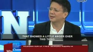 Sen. Escudero objected to calls for resignation of Pres. Benigno Aquino III