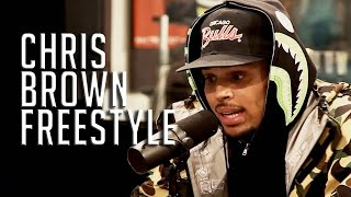 CHRIS BROWN FREESTYLES ON  FUNK FLEX!!!