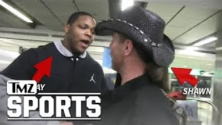 NY Giants Player -- Hey, Shawn Michaels ... I'M YOUR BIGGEST FAN! | TMZ Sports