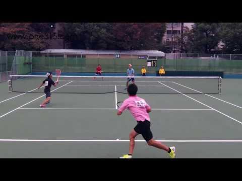 [すごプレ13]ソフトテニス日本代表選考会2015 船水(雄)九島ー安藤安藤