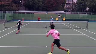 [すごプレ13]ソフトテニス日本代表選考会2015 船水(雄)九島ー安藤安藤 thumbnail
