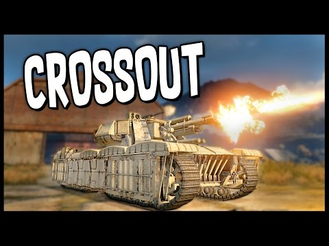 Crossout - M1 Abrams Tank, Race Car & Rocket Build - Let's Play Crossout Gameplay