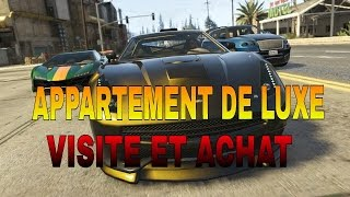 Grand Theft Auto V visite  appartement de luxe