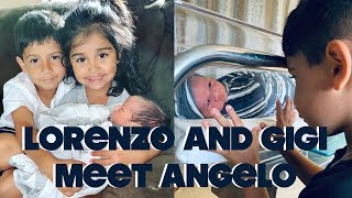 LORENZO AND GIOVANNA MEET ANGELO FOR THE FIRST TIME
