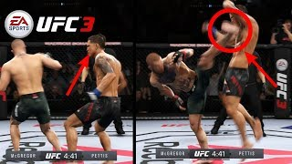EA UFC 3: Never Make This Mistake Against Conor McGregor Or You Will Get KO'd! (Best Knockouts)