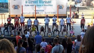 Чемпионат Украины по Street Workout 2016 ч.35 - Соревнование среди зрителей ч.1