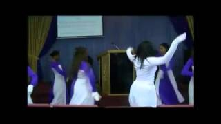 "William Murphy ""Amazing God"" Performed by Anointed Praise Dancers"