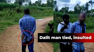 Mysuru: Dalit man paraded with his hands tied