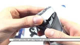 Review Unboxing Afeitadora Philips HQ6996 Recargable Cortapatillas 3 Cabezales