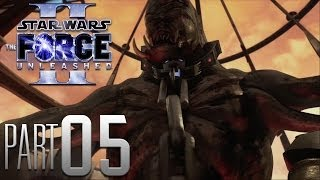 Star Wars: The Force Unleashed 2 HD Gameplay Walkthrough Part 5 - Let