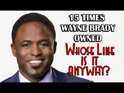 15 Times Wayne Brady Owned  Whose Line Is It, Anyway?