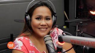 """Bituin Escalante Performs """"kung Ako Na Lang Sana"""" Live On Wish 107.5 Bus"""