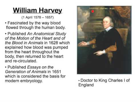 william harvey essay William harvey (1 april 1578 – 3 june 1657) was an english physician who made seminal contributions in anatomy and physiology he was the first known physician to.
