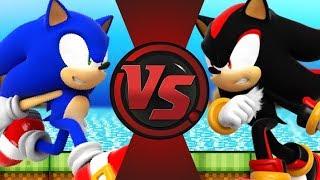 SONIC vs SHADOW! (Sonic The Hedgehog Animation) | Bonus Sonic Cartoon