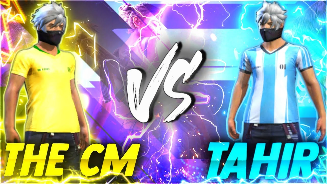 The Cm vs Gucci-Tahir , this mobile player is really good friendly battle 🤗