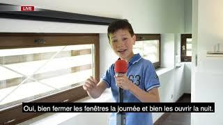 Mini-influenceurs de l'énergie - Wallonia Energy TV - Canicule
