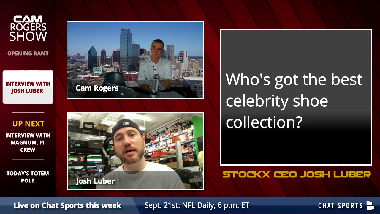 The Cam Rogers Show: StockX CEO Josh Luber