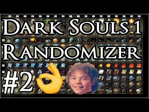 RANDOMIZER MOD! Use what you get challenge  | PART 2 - Dark Souls 1