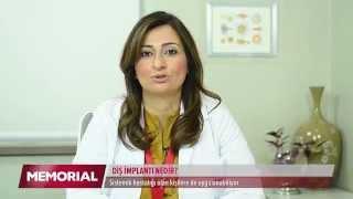 Diş implantı nedir? Dr. Dt. Ezel Yıldız Elmas
