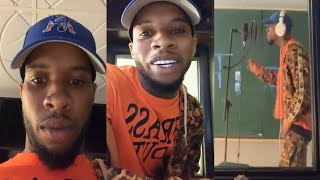 Gambar cover Tory Lanez Live In The Studio Trying To Make A Hit On Instagram Live | March 29th, 2020