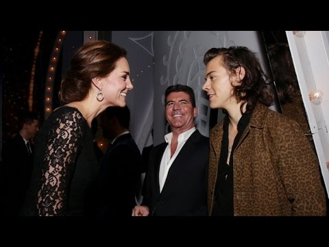 Kate Middleton and Prince William Meet-and-Greet One Direction!