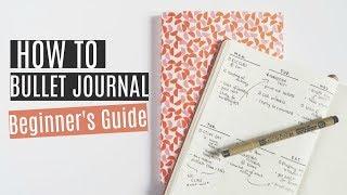 How To Bullet Journal | Beginner's Guide + Easy Spreads
