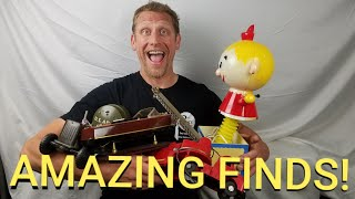 Фото OWNER ABANDONS VINTAGE TOYS AND COLLECTIBLES, WHY? UNBELIEVABLE UNBOXING VIDEO!