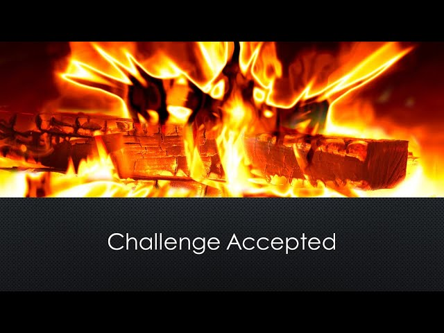 February 6, 2021. Challenge Accepted by Pastor Ryan Reeves