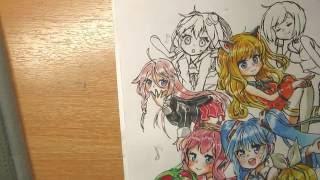 Draw IA Vocaloid