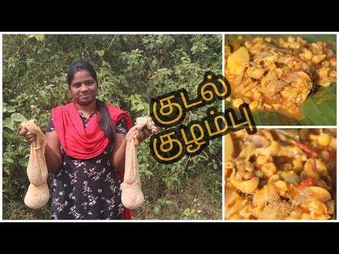 ஆட்டு குடல் குழம்பு செய்வது எப்படி#kudal kulambu tamil#Goat intestine kulambu #kootaansoru