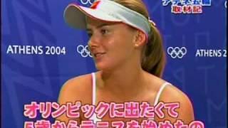Athens Olympics 2004 - Samma & Hantuchova [Subbed] ダニエラハンチュコバ 検索動画 8