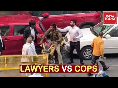 Lawyers Vs Cops : Lawyers Hits Streets In Protest Against Delhi Cops | India First