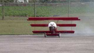 1/4 Scale Fokker DR-1 Triplane, built by Roy gorgeous Aircraft and ...