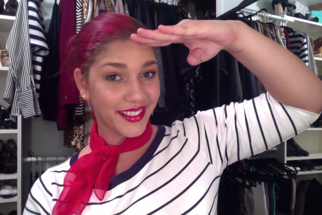 Diy Sailor Costume From The Closet Youtube