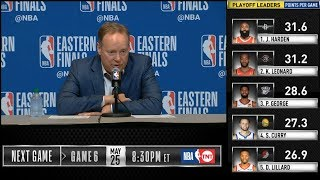 Mike Budenholzer postgame reaction | Raptors vs Bucks Game 5 | 2019 NBA Playoffs