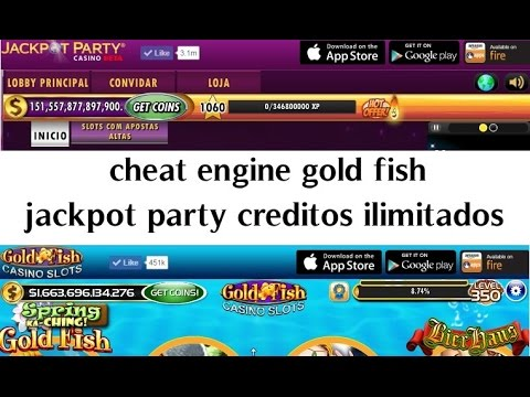 cheat engine gold fish e jackpot party creditos ilimitados